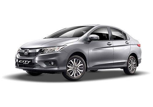 Honda CityAlabaster Silver Color