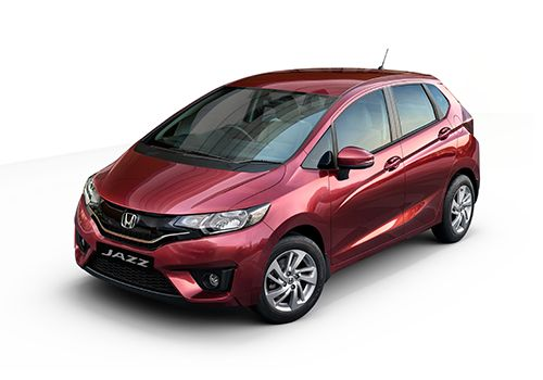 Honda JazzCarnelian Red Color