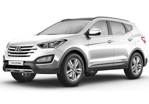 Hyundai Santa FePure white Color