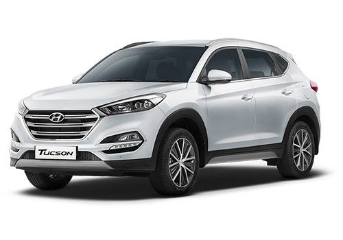 Hyundai TucsonPure white Color