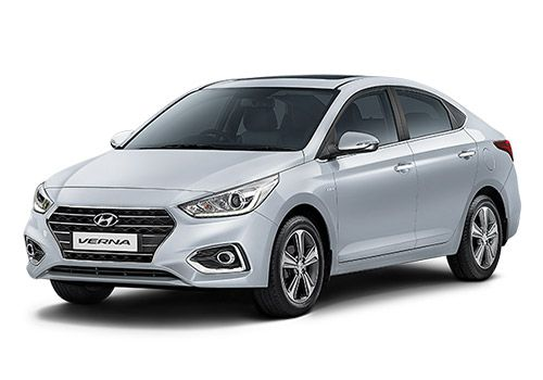 Hyundai Verna 2016-2017Sleek Silver Color