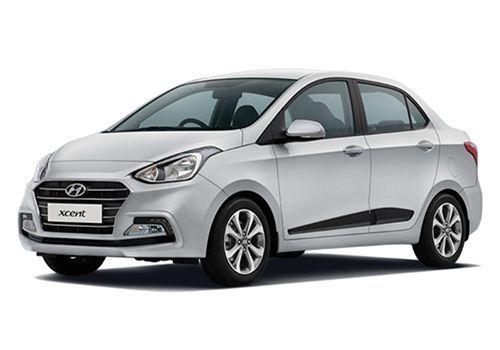 Hyundai XcentSleek Silver Color