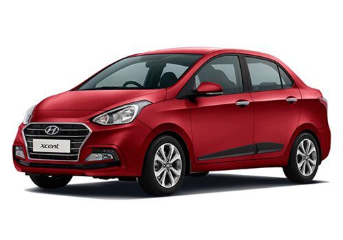 Hyundai XcentWine Red Color