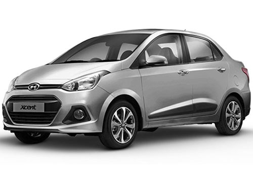 Hyundai Xcent 2016-2017Sleek Silver Color