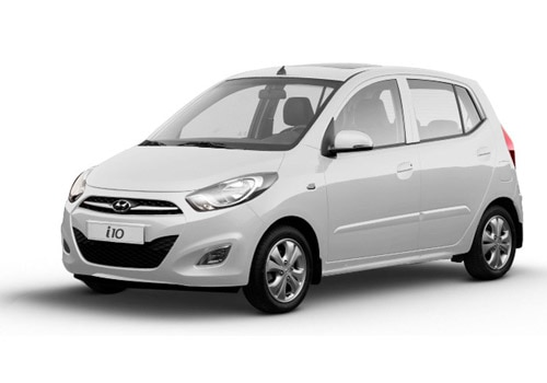 Hyundai i10Sleek Silver Color