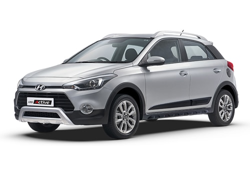 Hyundai i20 ActiveSleek Silver Color