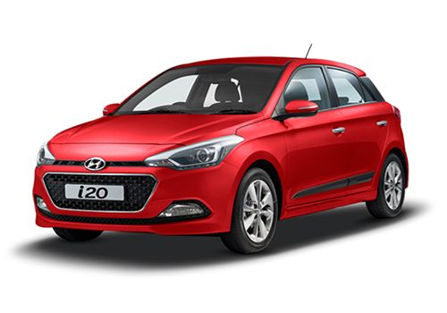 Hyundai Elite i20Red Passion  Color