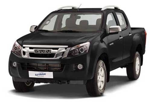 Isuzu D-Max V-CrossCosmic Black Color