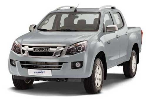 Isuzu D-Max V-CrossObsidian Grey Color