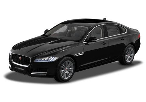 Jaguar XFEbony Black Color