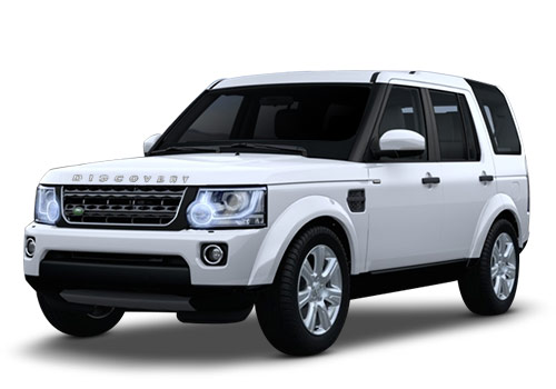 Land Rover Discovery 4Fuji White Color