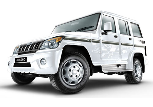Mahindra BoleroDiamond White Color