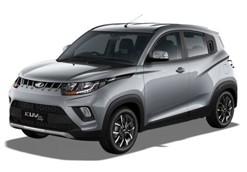 Mahindra KUV100Dazzling Silver Color