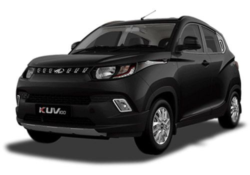 Mahindra KUV100Midnight black Color