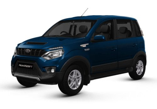 Mahindra NuvoSportRegal Blue Color