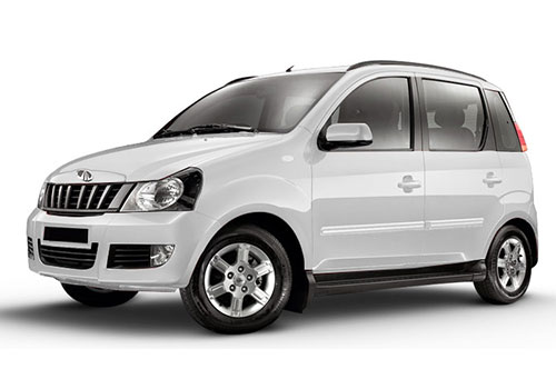 Mahindra QuantoDiamond White Color