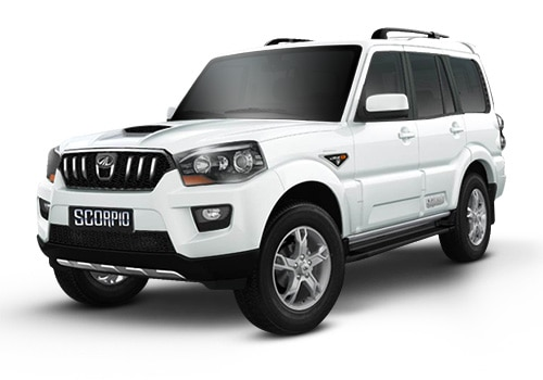 Mahindra ScorpioDiamond White Color