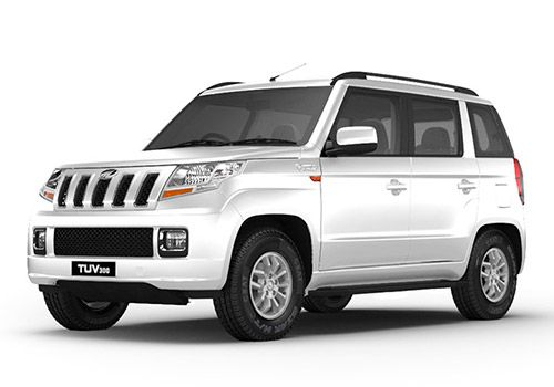 Mahindra TUV 300Glacier White Color