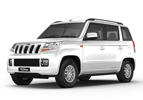 Mahindra TUV 300Glacier White Color