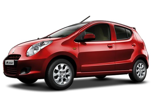 Maruti A StarBright red Color