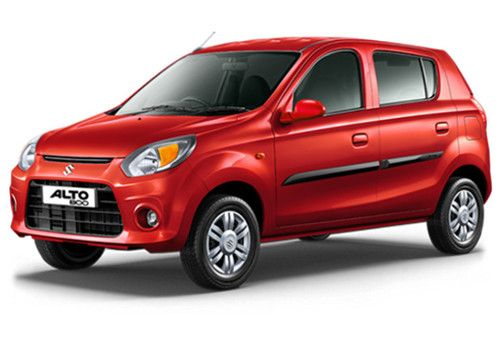 Maruti Alto 800Blazing Red Color