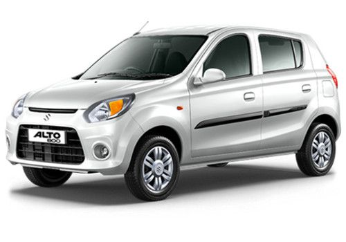 Maruti Alto 800Superior white Color