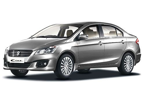 Maruti Ciaz 2014-2017Metallic silky silver Color
