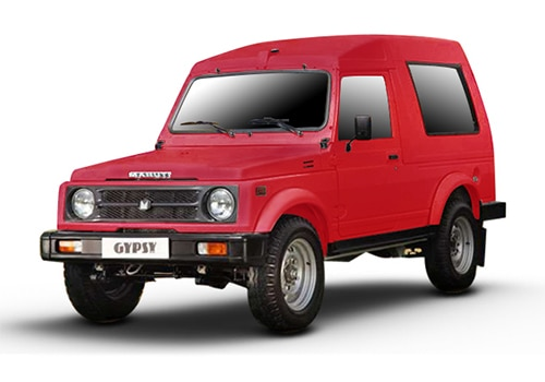 Maruti GypsyRuby Red Color