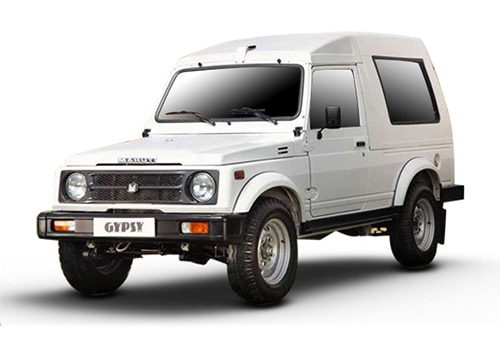 Maruti GypsySuperior white Color
