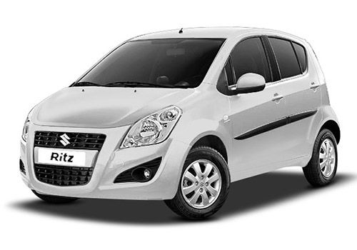 Maruti RitzSuperior white Color