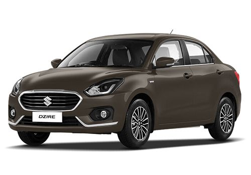 Maruti Swift DzireSherwood Brown Color