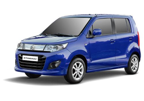 Maruti Wagon R StingrayMidnight Blue Color
