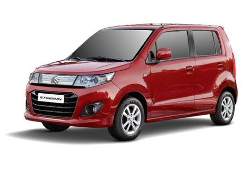 Maruti Wagon R StingrayPassion Red Color