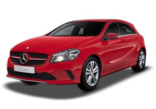 Mercedes-Benz A-ClassJupiter Red Color
