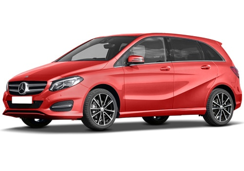 Mercedes-Benz B Class Jupiter Red