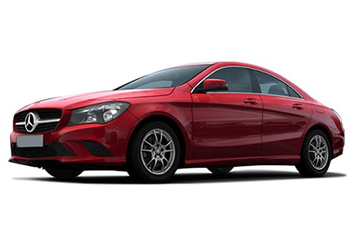 Mercedes-Benz CLAJupiter Red Color