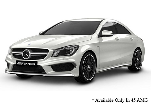 Mercedes-Benz CLACirrus White - AMG Color