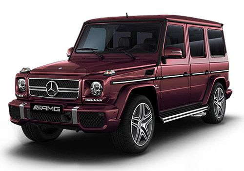 Mercedes-Benz G-ClassDesigno Mystic Red Color