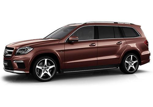 Mercedes-Benz GL-ClassCinnabarite Red Metallic Color