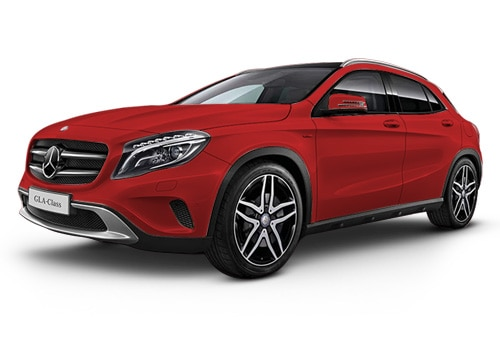 Mercedes-Benz GLA Class 2014-2017Jupiter Red Color