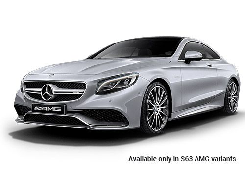 Mercedes-Benz S-ClassDIAMOND SILVER METALLIC S63 AMG Variant Color