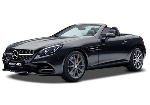 Mercedes-Benz SLCObsidian Black Metallic Color