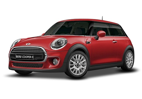 Mini Cooper 3 DOORBlazing Red Color