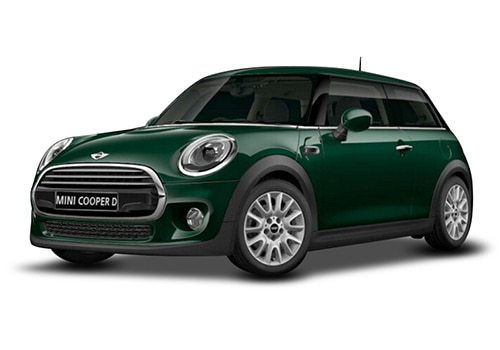 Mini 3 DOORBritish Racing Green Color