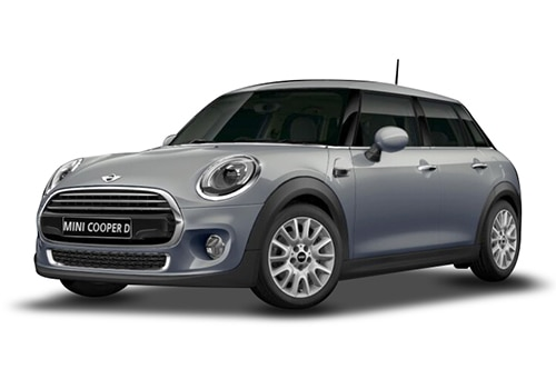 Mini Cooper 5 DOORMoonwalk Grey Color