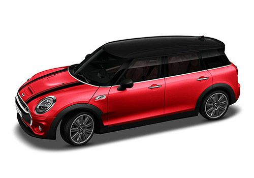 Mini ClubmanChili Red Color