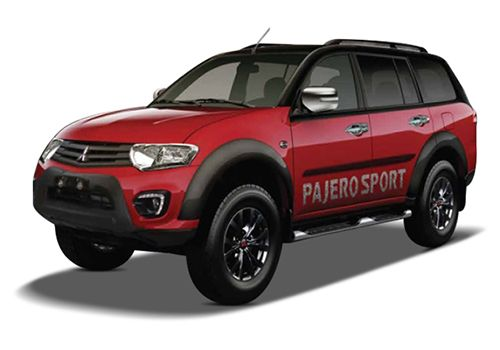 Mitsubishi Pajero SportBlack and Red Color