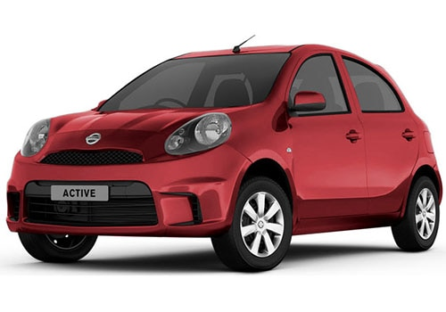 Nissan Micra ActiveBrick Red Color