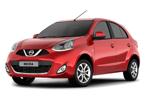 Nissan Micra 2012-2017Brick Red Color