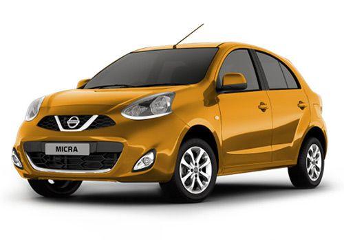 Nissan MicraSunshine Orange Color